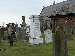 John Duncan memorial, Abbey Church, Coup