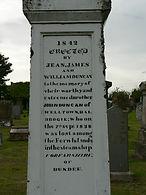 John Duncan memorial stating he was lost