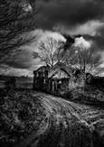 'Struel Wells' by Martin Spackman ( 8 marks )