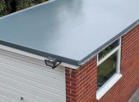 Benefits of  flat fiberglass roofs {GRP}