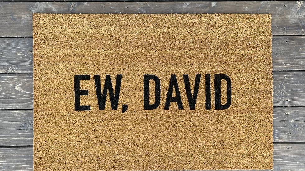 Ew David Doormat