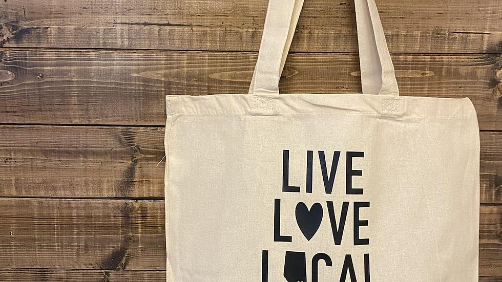 Live Love Local Market tote