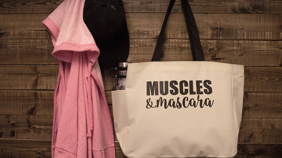 Muscles & Mascara Deluxe Tote