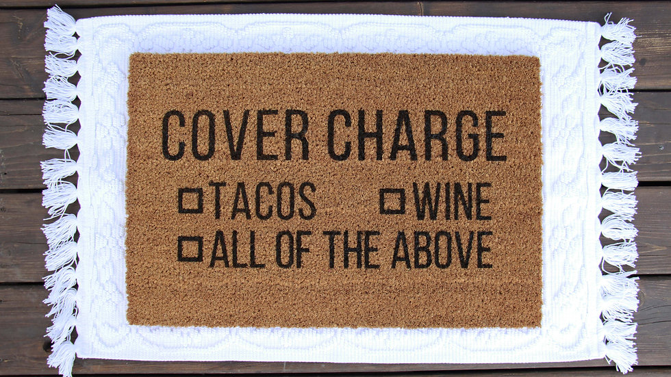 Cover Charge Doormat