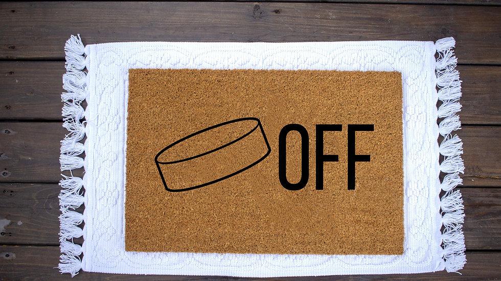 Puck Off Doormat