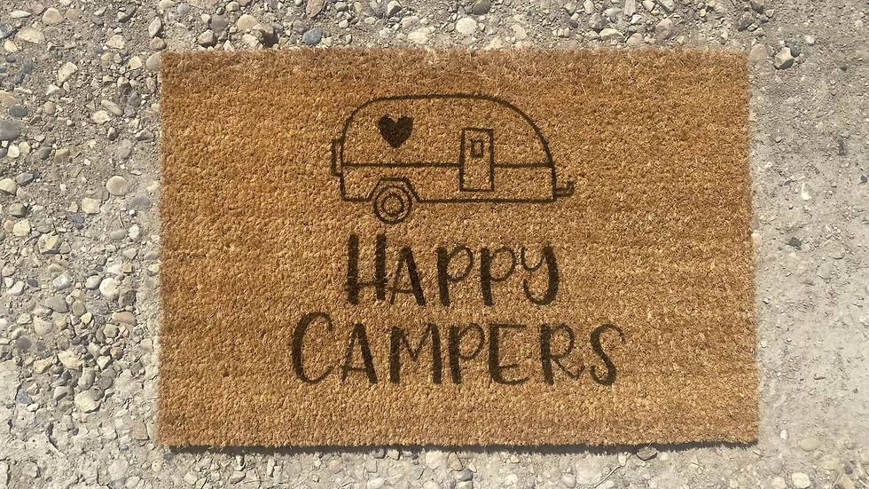 Happy Campers Doormat