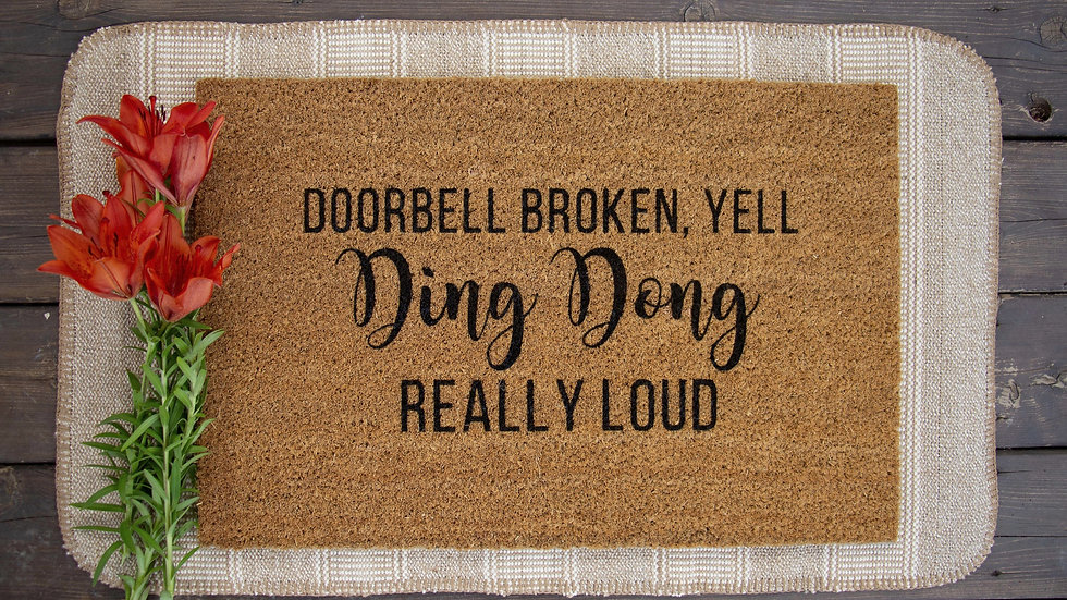 Doorbell Broken doormat