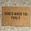 Thumbnail: Home is Where you Park It Doormat