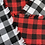 Thumbnail: Black and Red Buffalo Plaid - Large
