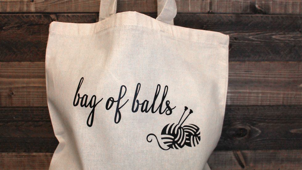 Bag of Balls Market tote