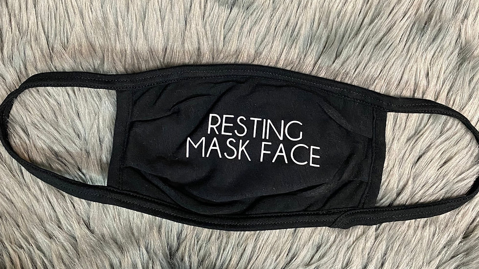 Resting Mask Face Cloth Face Mask