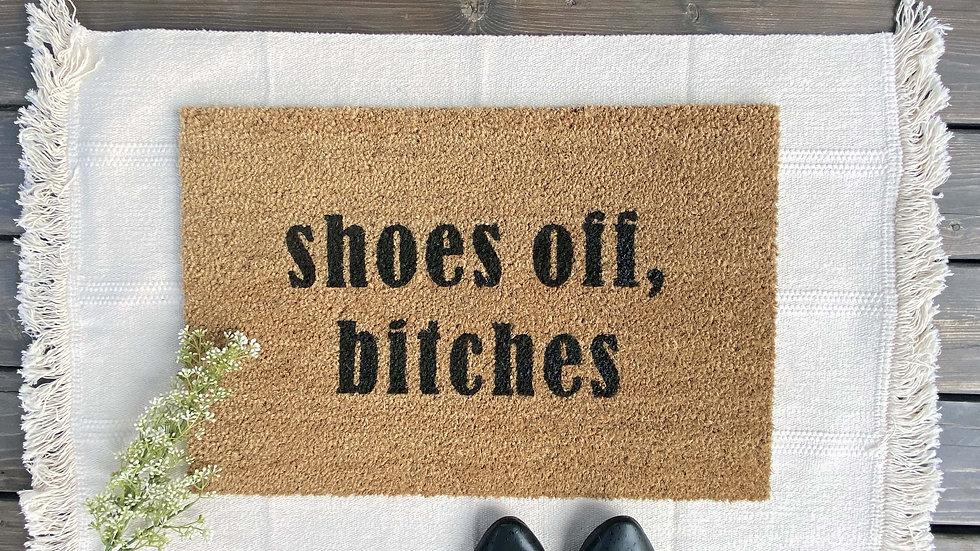 Shoes Off ---Doormat