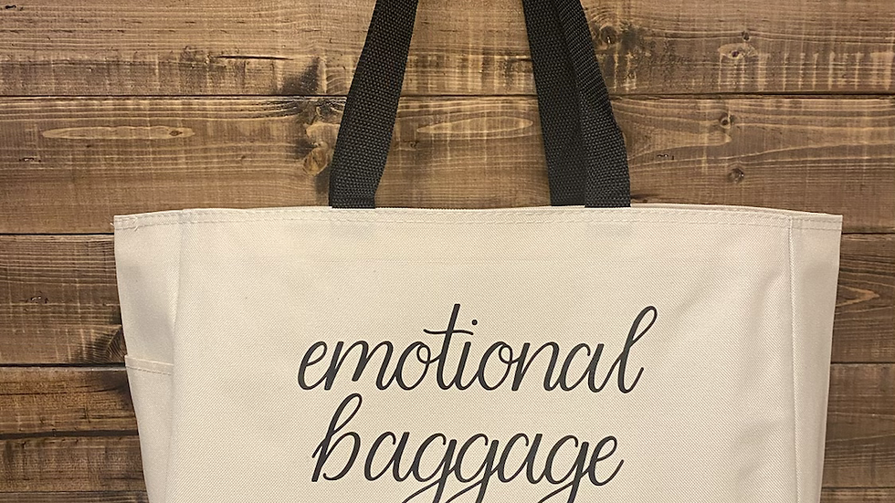 Emotional Baggage Deluxe Tote