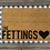 Thumbnail: Adorably Modern Personalized Doormat