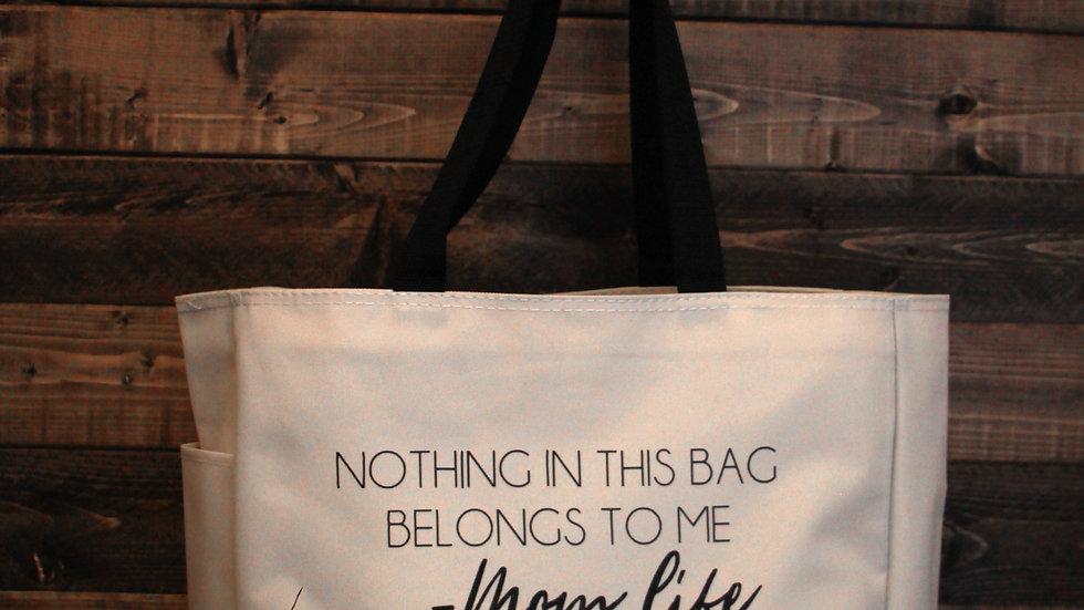 Nothing in this Bag Belongs to Me Deluxe Tote