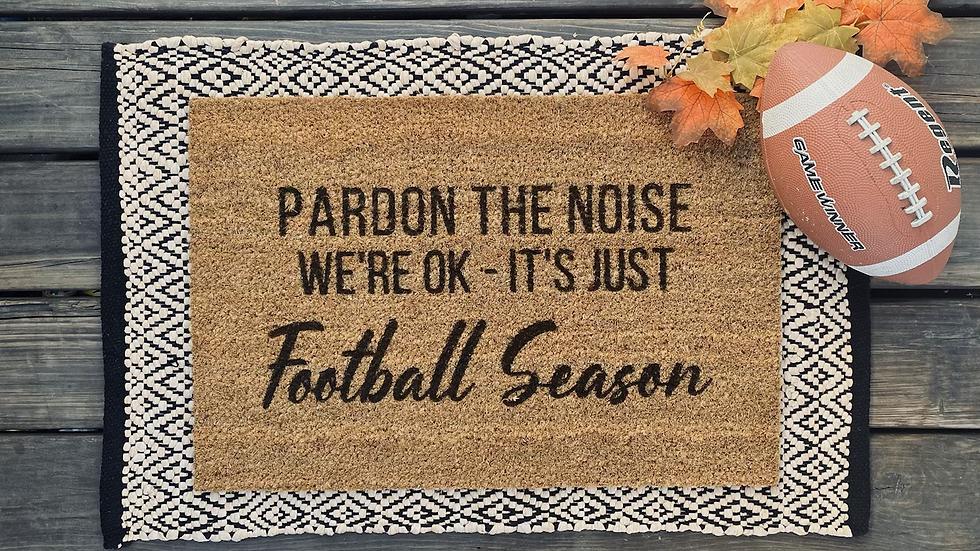 Football Season Mat