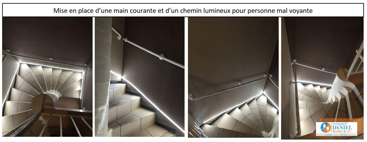 chemin lumineux