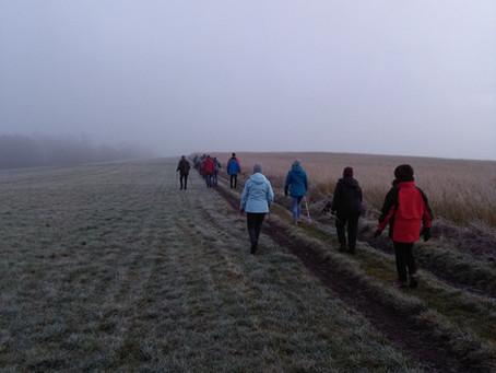 Glühweinwanderung des Eifelvereins Steffeln durch das Tieferbachtal am 28.12.2019