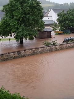 Starkregen und Hochwasser in der Ortsgemeinde Steffeln