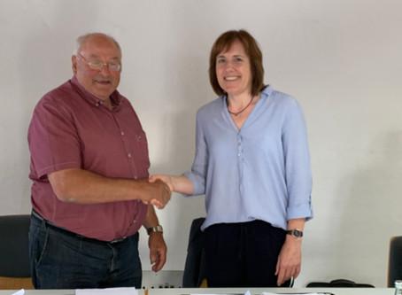 Unsere neue Bürgermeisterin  Sonja Blameuser