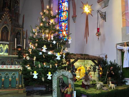 Über die Ursprünge der Weihnachtskrippe in der Steffeler Pfarrkirche St. Michael