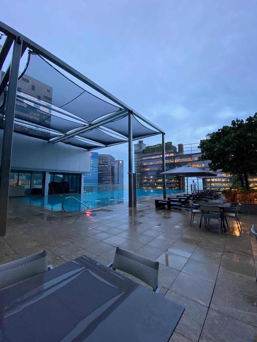 Swimming Pool View at Westin Singapore