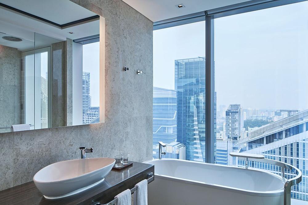 Westin Singapore bathroom