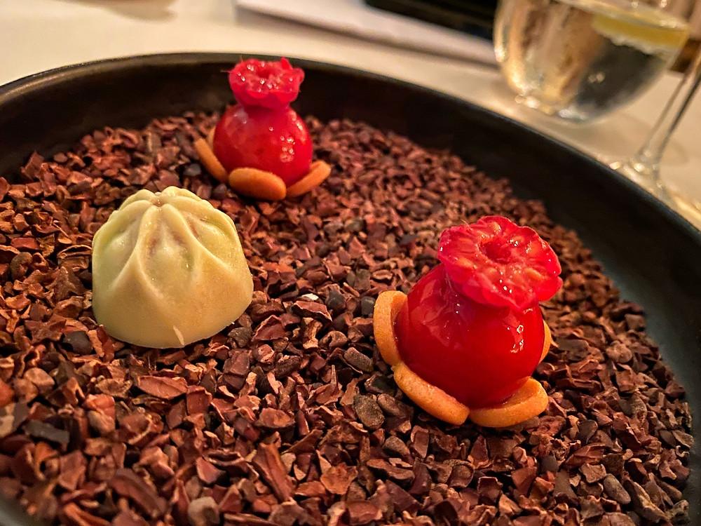 Chocolate and Raspberry tarts Forlino