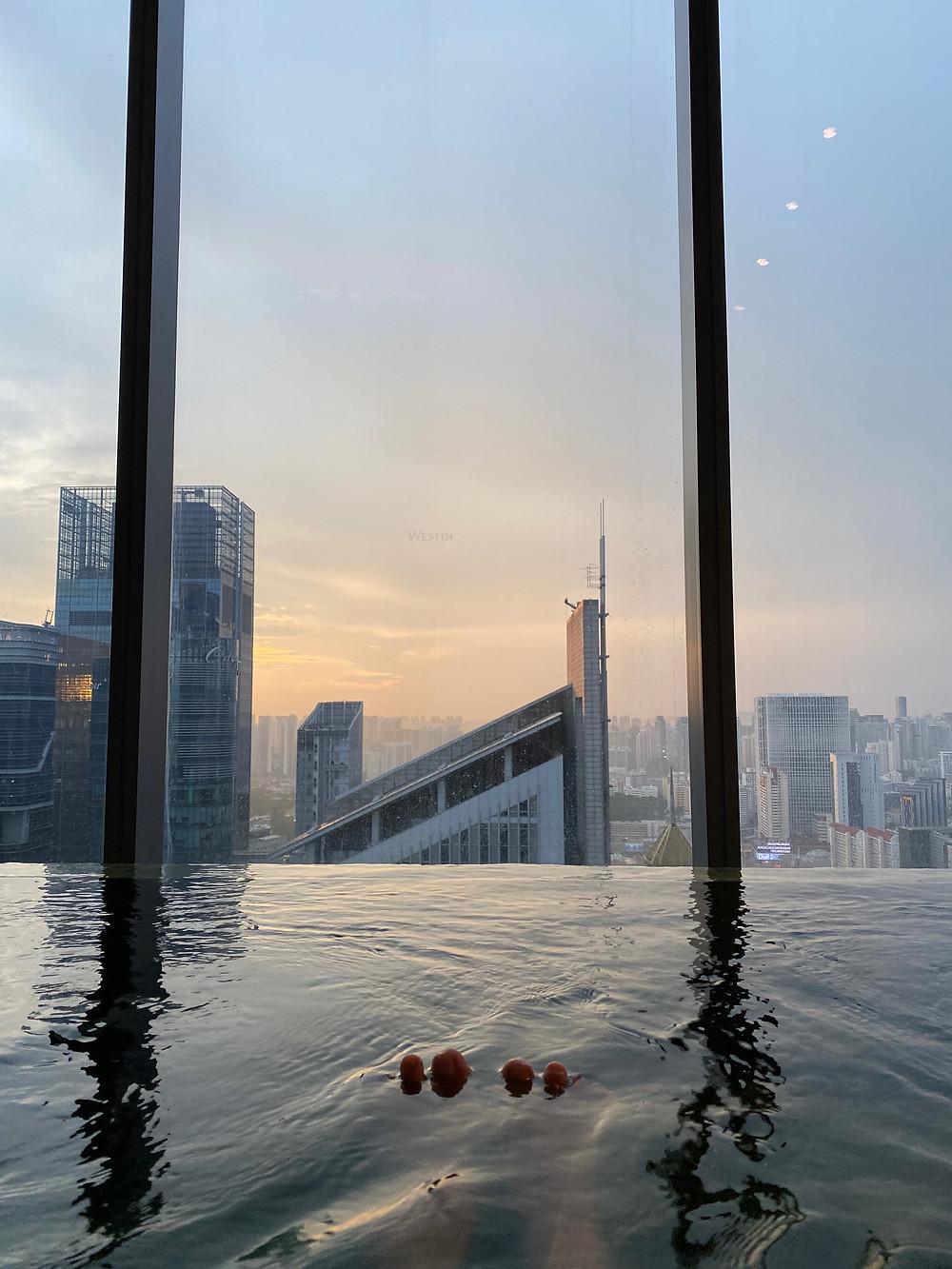 Hot Tub Westin Singapore