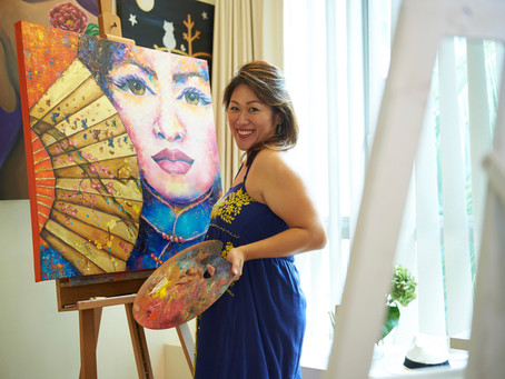 International Artist Mishell Leong to create her first Wall Installation in Singapore with Big Blue