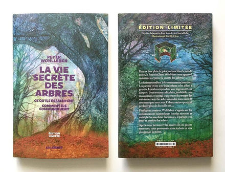 The Secret life of Trees Limited edition cover design
