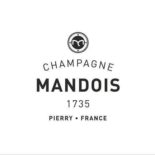 Bottle of Champagne Mandois