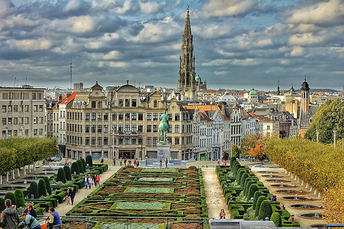 Guided tour of Brussels