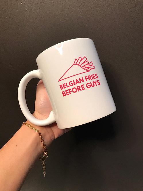 Mug - FRIES before GUYS