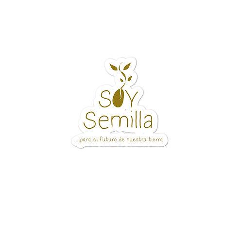 Sticker Soy Semilla