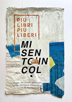 10._MI SENTO IN COLPA_, affiche maturée 31  jours Via Nizza, Rome, 82 x 54 cm, 2021..JPG