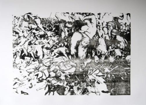 DANTE – lithographie • Anne-James Chaton