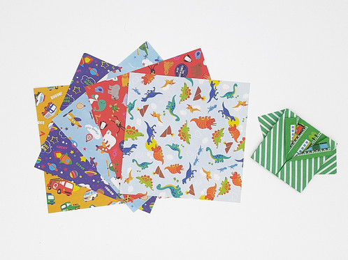 Chiyogami Also Known As Thousand Generation Paper It Is Washi That Has Been Hand Stenciled Or Printed With Traditional Japanese Imagery Using