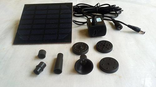 Solar Powered Panel Water Pump Kit