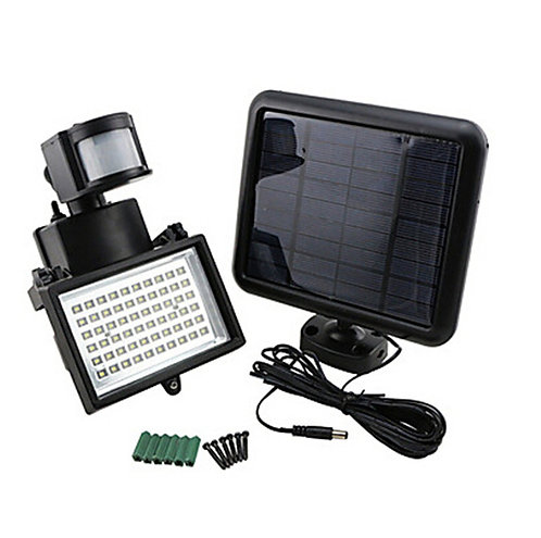 60 LED Solar Power Flash Light