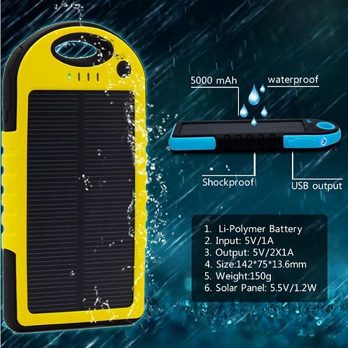 5000mAh  Dual-USB  Power Bank