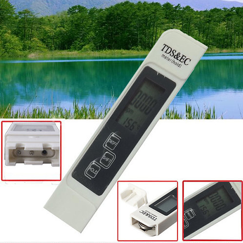 LCD TDS & EC Meter Tester