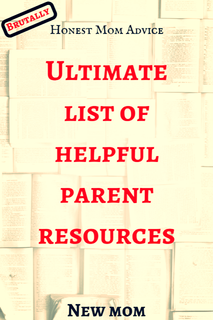 list of helpful parent resources