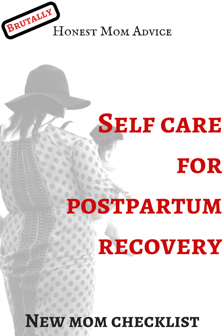 postpartum recovery self care