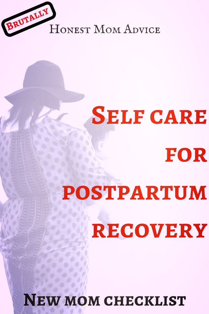 self care postpartum recovery