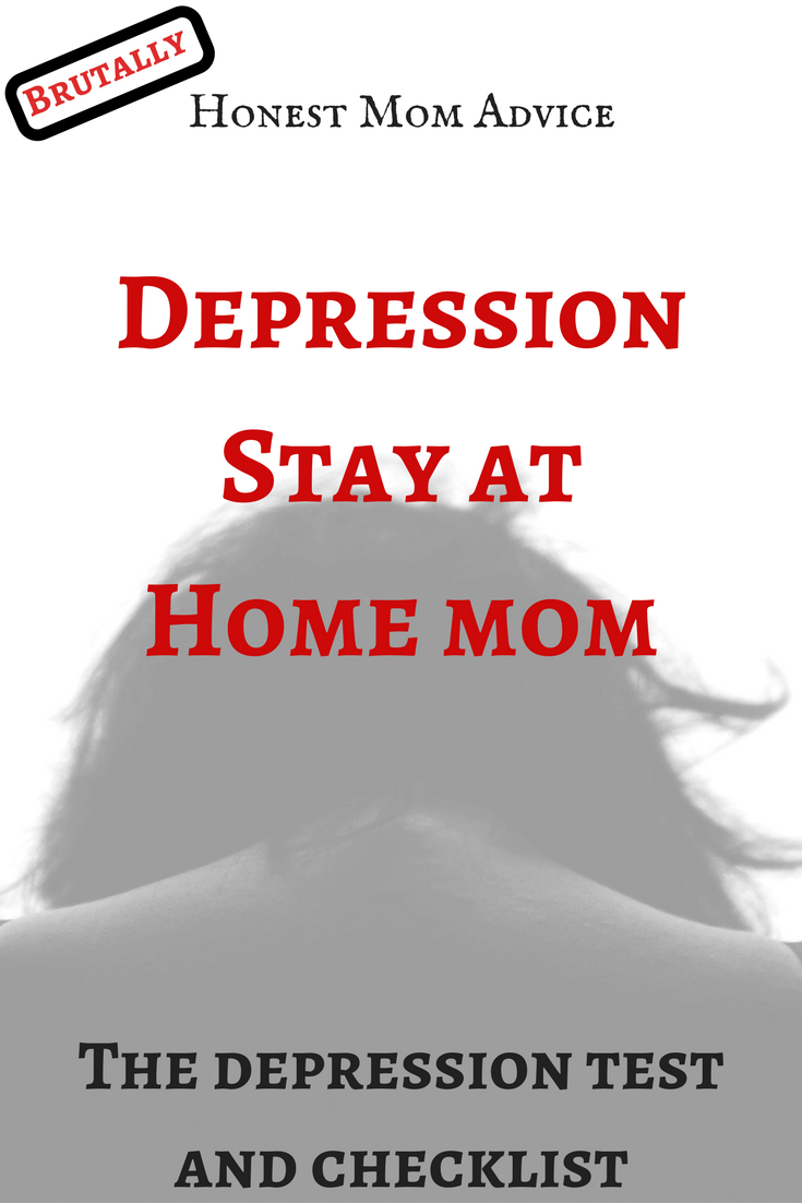 Depression Stay At Home Mom: The Depression Test and