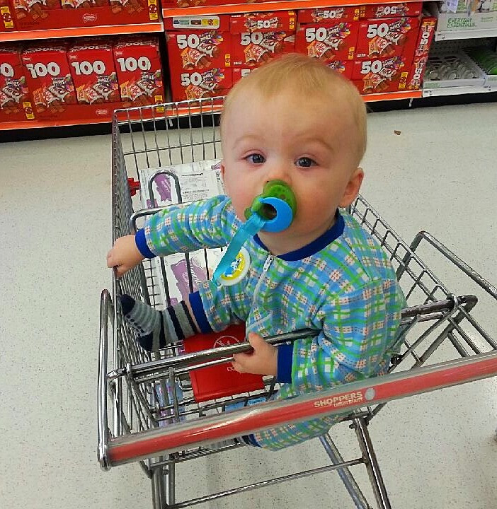 Taking Baby Grocery Shopping