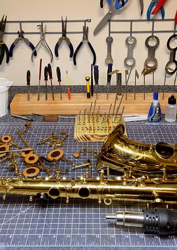 best saxophone repair shop