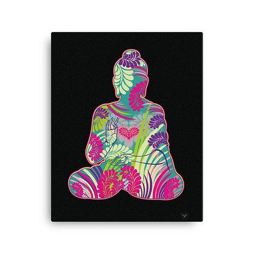 Obraz na plátne Budha farebný
