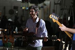 Cours de guitare avec Olivier Raphenne